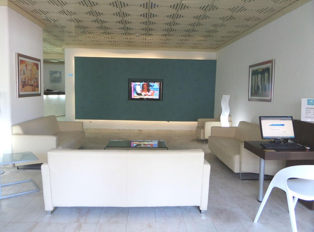 TV and games room Tourist Apartments Mirachoro I en Albufeira