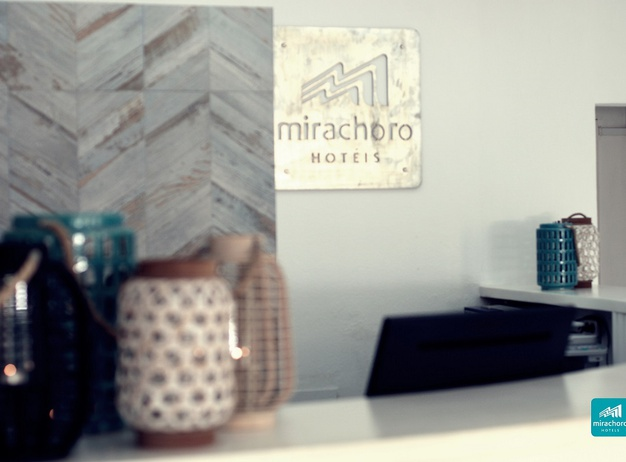 RECEPTION Tourist Apartments Mirachoro I en Albufeira