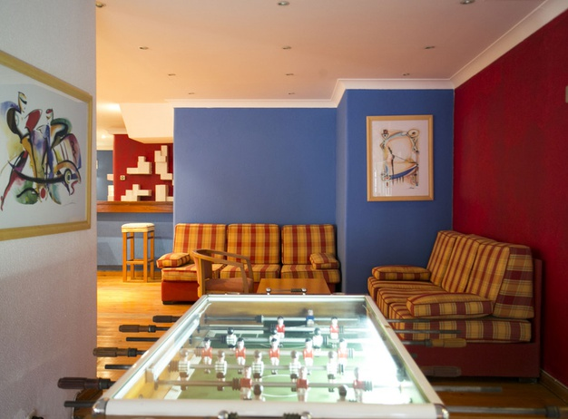 Game room Tourist Apartments Mirachoro I en Albufeira